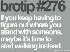 Start walking!