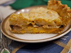 Potato, Cheese and Mushroom Pie