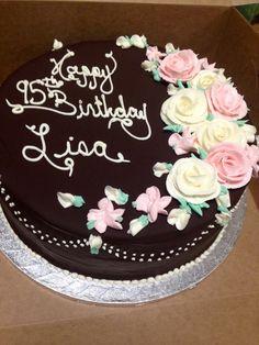 Cream fillings for birthday cakes