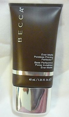 Makeup Review, Swatches: Becca Ever-Matte Poreless Priming Perfector - Best Primer For Oily Skin, Minimizes Pores