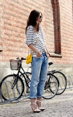 I really would love to rock a pair of boyfriend jeans...