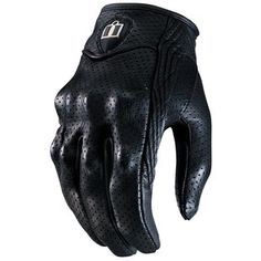 Icon Pursuit Perforated Gloves - Got them in white