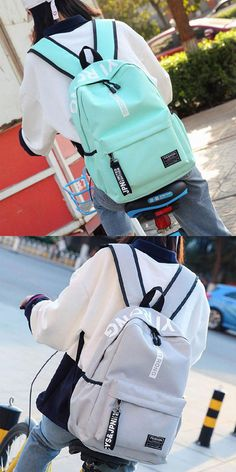 Travel Backpack, Fashion Backpack, College Backpacks, High School Students, Large Bags, Golf Bags, Pure Products, Simple, Collection