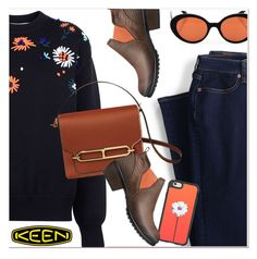 """""""So Fresh and So Keen: Contest Entry"""" by paculi ❤ liked on Polyvore featuring Lands' End, Victoria, Victoria Beckham, Oliver Peoples, Keen Footwear, Casetify and keen"""