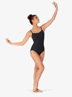 New Lady girl women ballet dance double cross low back leotard