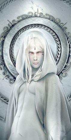Fantasy Art by Wen-JR....flawless and divine piece....OMG! That stare blows my mind...wow!