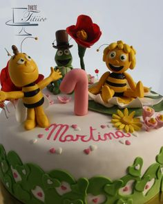 Maya the bee II - Cake by Torte Titiioo