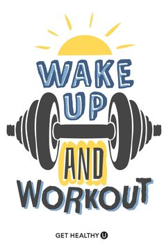Wake up and workout! Wake up and workout! Source This article/picture Wake up and workout! first appeared on daily fit IMPACT. Your source for fitness pictures and fitspiration. Sport Motivation, Gym Motivation Quotes, Gym Quote, Goal Quotes, Fitness Quotes, Monday Motivation, Weight Loss Motivation, Motivational Quotes, Inspirational Quotes