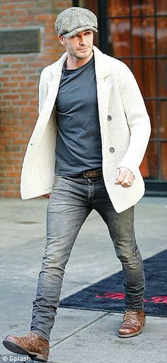 Beckham tends to continue to keep his outerwear slim fit and flattering, choosing classic cuts that frame the human body and that can readily be matched with a variety of wardrobe choices. Inside this way the Beckham is a truly… Continue Reading → Mode Masculine, Sharp Dressed Man, Well Dressed Men, Looks Cool, Looks Style, Men's Style, Stylish Men, Men Casual, Classy Casual