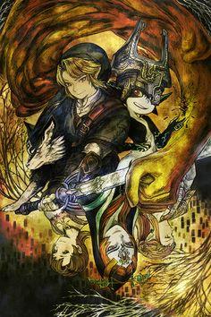 The Legend of Zelda 【ゼル伝タロット企画】 Ⅹ・運命の輪 | 前掛