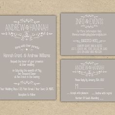 16 Things to Know About Printable Wedding Invitations | Brides