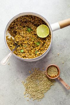 When done right, lentils totally rock. Here, turn one bag of green lentils into three different recipes - tacos, soup, and a Mediterranean salad!
