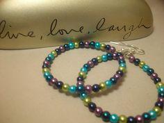 Handmade earrings Made with Love