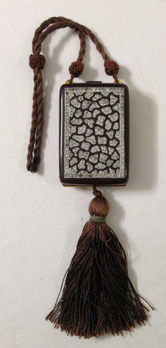 Deco Rhinestone Covered Chocolate Brown Celluloid Compact Purse Circa 1920s | eBay