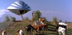 Artificially Intelligent Trimaxian Drone Ship from the planet Phaelon (Flight of the Navigator)