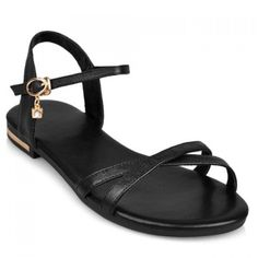 31.44$  Watch now - http://di24z.justgood.pw/go.php?t=174983422 - Simple Buckle Strap and Flat Heel Design Sandals For Women 31.44$