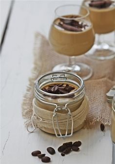 Coffee Panna Cotta | Passionate About Baking [note to self: check out more from this blog]