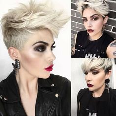 Trendiest Pixie Haircut for Women, 2018 Summer Short Hairstyle Ideas #hair #hairstyles #shorthair #pixie #pixiehaircut