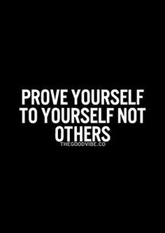 Photo: #Prove #Yourself