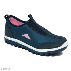 Sports Shoes & Floaters Stylish Synthetic Leather Women's Shoe  *Material* Synthetic Leather 