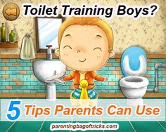 Potty Training Boys: 5 Tips Parents Can Use To Ensure The Process Is Successful