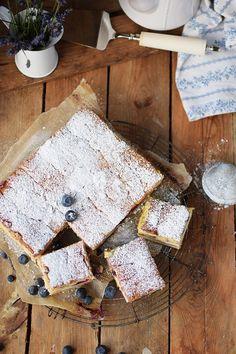 Eierschecke mit Beeren - Cheesecake with Berries | Das Knusperstübchen