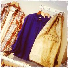 Men's vintage at Bobby & Dandy.