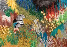 illustration of wild flowers (Illustratie van wilde bloemen), by Lieke van der Vorst