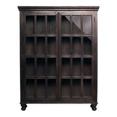 This is the book cabinet from the Faulkner collection at Crate and Barrel. Solidly built with plantation-grown mango wood...I fell in love with this at the store. Pricey but worth it. I'll have to save up for it.