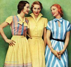 50年代は上品×可愛らしさ♡レトロワンピースでお嬢さんスタイルはいかが?|MERY [メリー]