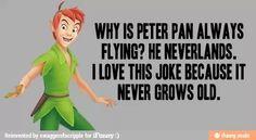 Peter Pan Puns