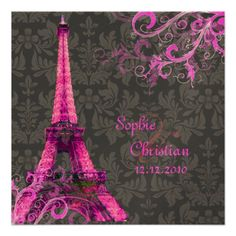 ReviewPixDezines la tour eiffel/paris Personalized InvitationIn our offer link above you will see