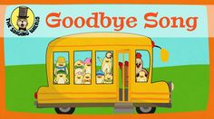 The Goodbye Song is a short and simple tune for kids in the preschool or kindergarten classroom. Good for circle time as the kids say goodbye. Goodbye Song For Kids, Goodbye Songs For Preschool, Preschool Songs, Final Goodbye, Preschool Classroom, Morning Meeting Songs, Good Morning Song, Learn Singing, Singing Tips