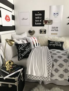 Fashion Night In // shop this look on dormify.com #teengirlbedroomideasthemes