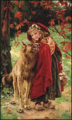 View Chaperon Rouge Little Red Riding Hood by Gabriel Joseph Marie Augustin Ferrier on artnet. Browse upcoming and past auction lots by Gabriel Joseph Marie Augustin Ferrier. Red Riding Hood Wolf, Art Occidental, Jeepers Creepers, Big Bad Wolf, Illustration Art, Illustrations, Fairytale Art, Red Hood, Little Red