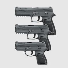 Sig Sauer P320 Family (Full-Size, Carry and Subcompact (coming soon)