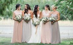Decoração de Casamento : Paleta de Cores Rosa e Cinza