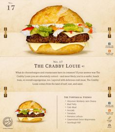 40 Of The Most Delicious-Looking Cheese Burger Combinations Ever - UltraLinx Burger Menu, Gourmet Burgers, Good Burger, Burger Recipes, Junk Food, Burger Dogs, Good Food, Yummy Food, Food Humor