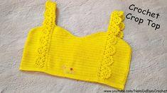 Easy Crochet for Summer: Crochet Crop Top #10