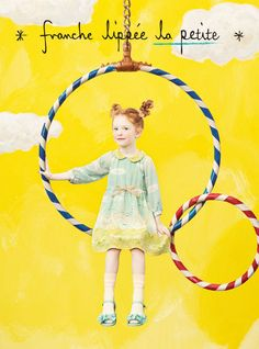 Adelaide Young for franche lippee lapetite SS 2015 Colorful Fashion, Kids Fashion, Labo Photo, Dm Poster, Photocollage, Magazines For Kids, Advertising Photography, Child Models, Kids Wear