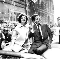 """youngfirstlady:    Kennedy was defensive of Jackie. Despite claims that he feared her style would be a campaign liability, he vigorously praised her intelligence in a heated discussion with reporter Laura Berquist, and in a private memo to his staff, he scribbled a single line to them that made his intentions clear: """"We need to promote her more."""" With all he had to focus on out on the trail, Kennedy remained preoccupied with her."""