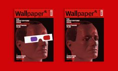 Wallpaper's October 2011 Kraftwerk cover, featuring Ralf Hütter in 3D robot form