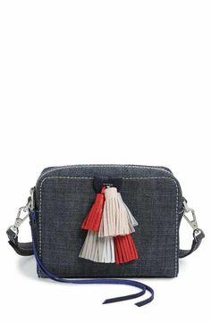 Rebecca Minkoff Mini Sofia Denim Crossbody Bag