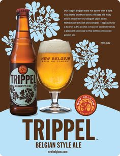NEW BELGIUM TRIPPEL - best ale ever