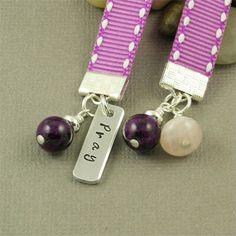 handmade bookmarks designs | Handmade Ribbon Bookmark
