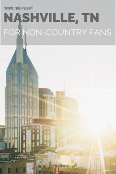 When cities have a nickname, sometimes it's difficult to see beyond what makes the city famous. That's the case with Nashville, also known as Music City and the indisputable capital of country music. But here's the thing. You don't have to have to be a country music fan or dress up in cowboy boots just to feel in tune with the capital of Tennessee.