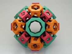 Truncated Cuboctahedron With Prisms On All Faces