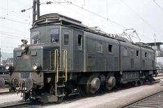 Swiss Railways, Oil Rig, Electric Locomotive, All Over The World, Switzerland, Vintage Trains, Basel, Pictures, Display Stands