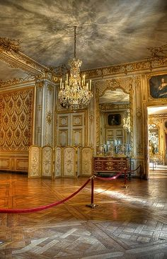 Forbidden Room in the Palace of Versailles