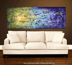 """72"""" abstract  art painting large painting  abstract painting , from jolina anthony signet  express shipping"""